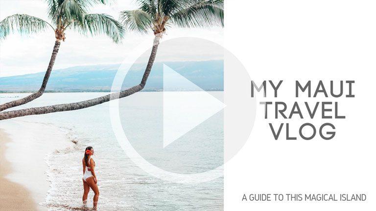 My Maui Travel Vlog