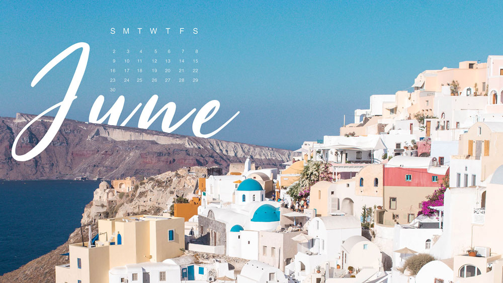 June 2019 desktop wallpaper