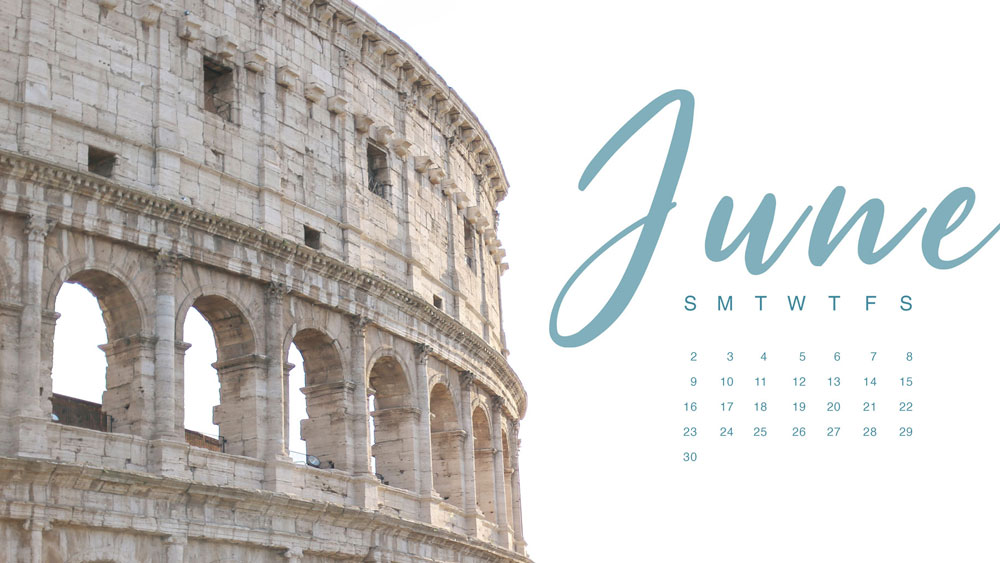 June 2019 wallpaper