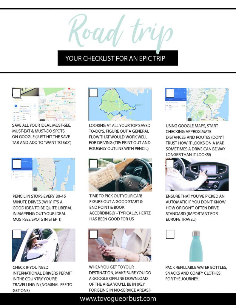 How to plan road trips