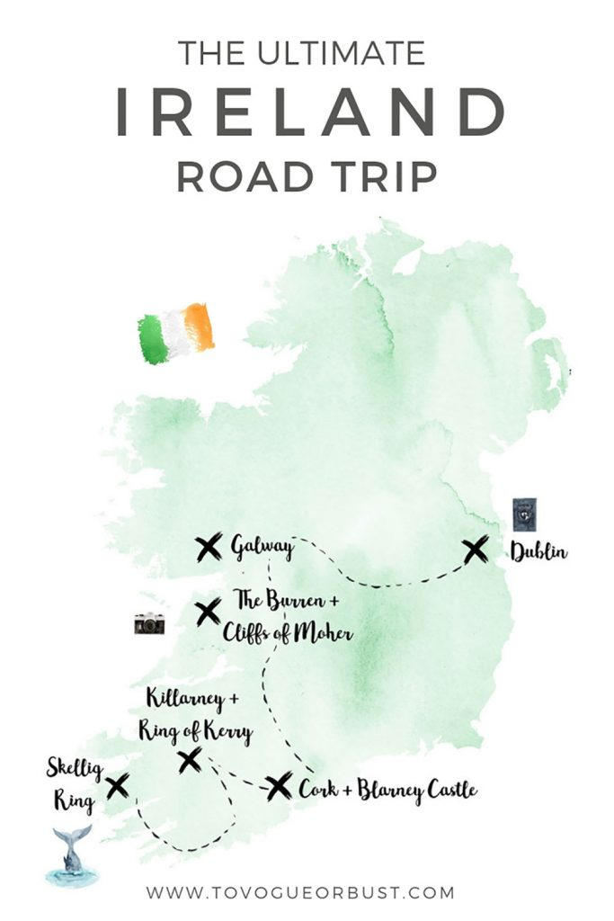 Ireland Road Trip Guide