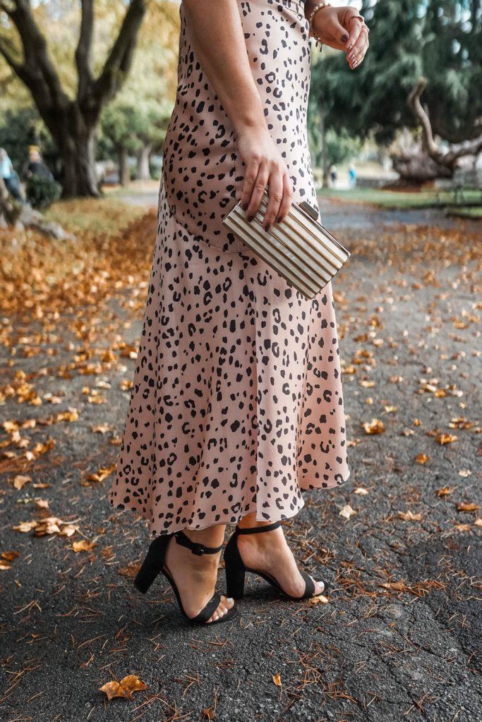 Ever New leopard skirt
