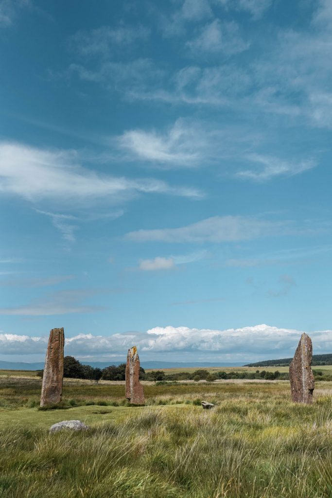 Machrie Moor Stone Circle Isle of Arran