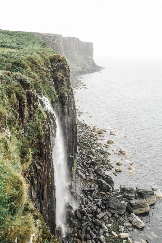 Kilt Rock Mealt Falls Scotland