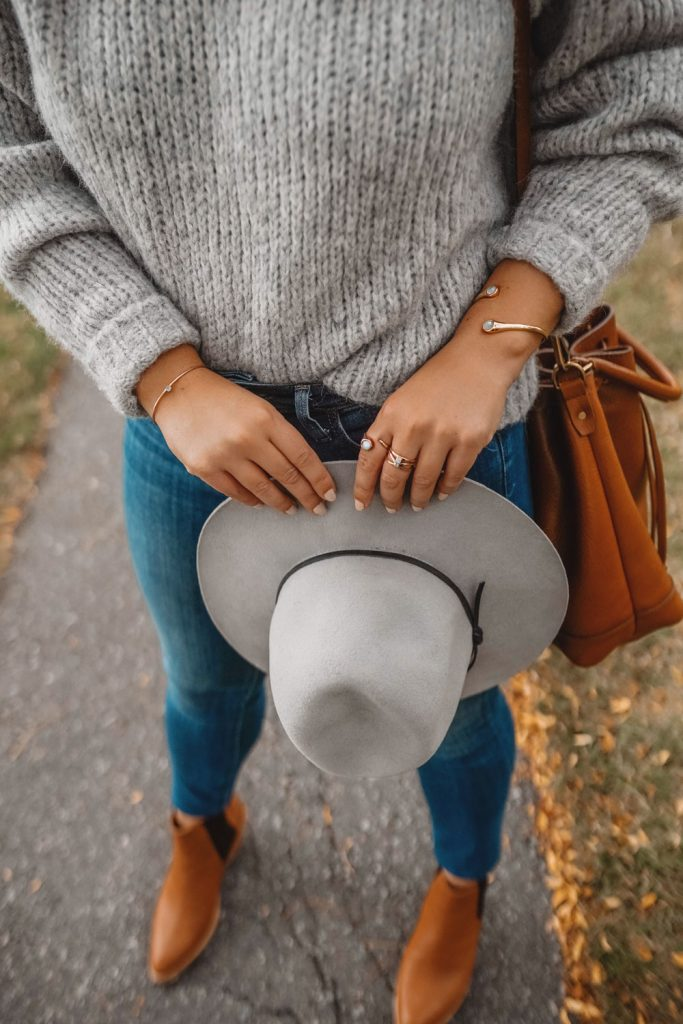 Wool fedora styling ideas