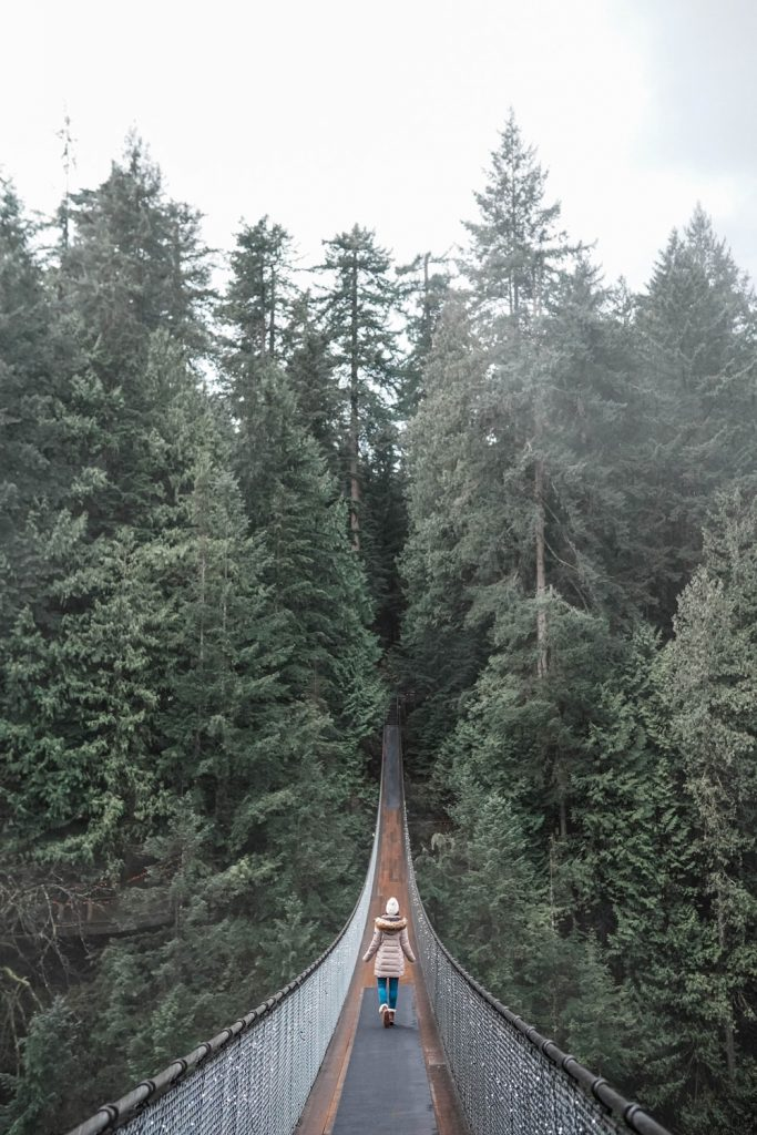 Suspension bridge Vancouver
