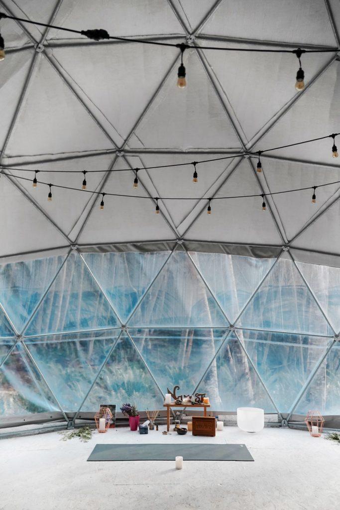 Yoga Dome Tent