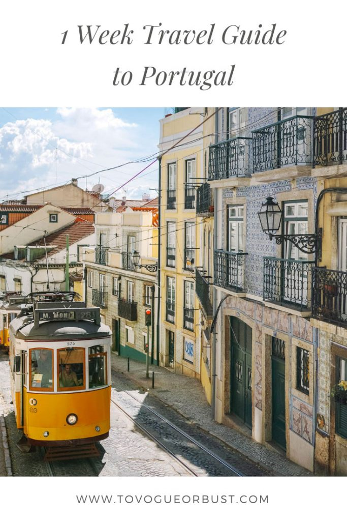 1 Week Travel Guide to Portugal