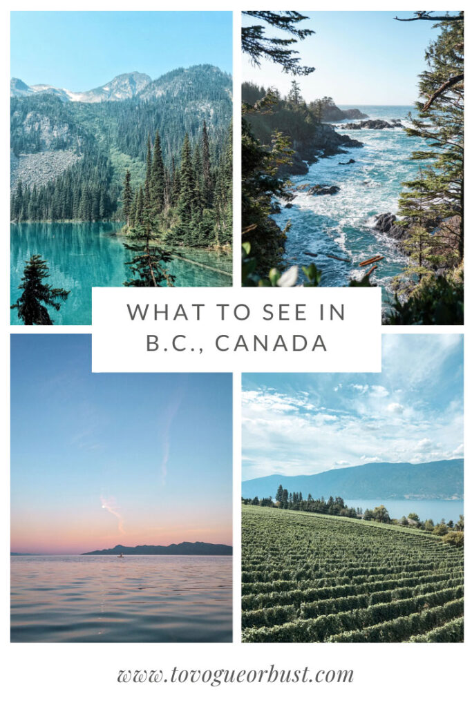 what to see in british columbia canada